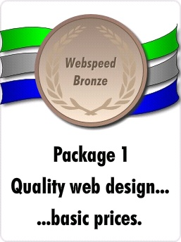 Webspeed bronze package