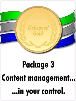 Webspeed gold package
